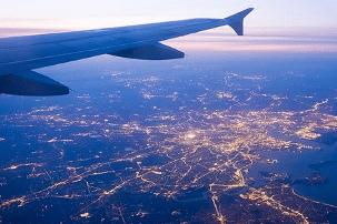 Flugzeug Aussicht Flugbuchung Reisen