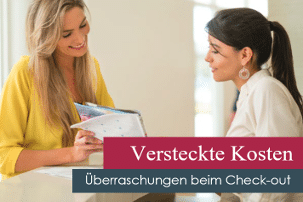 Support Versteckte Kosten hidden costs