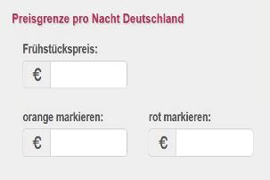 Reiserichtlinien Hotel Deutschland