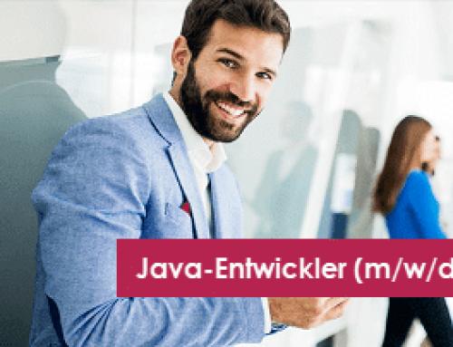 Jobangebot: Java-Entwickler (m/w/d)