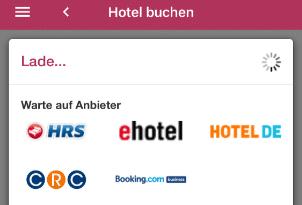 HotelApp Anbiter Hotels