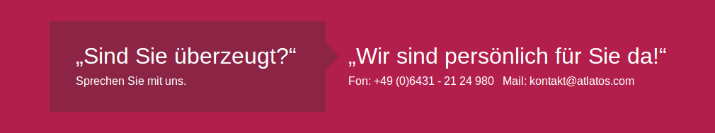 kontaktier uns E-Mail Telefon